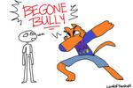 Cool Cat DABS The Bullies Away