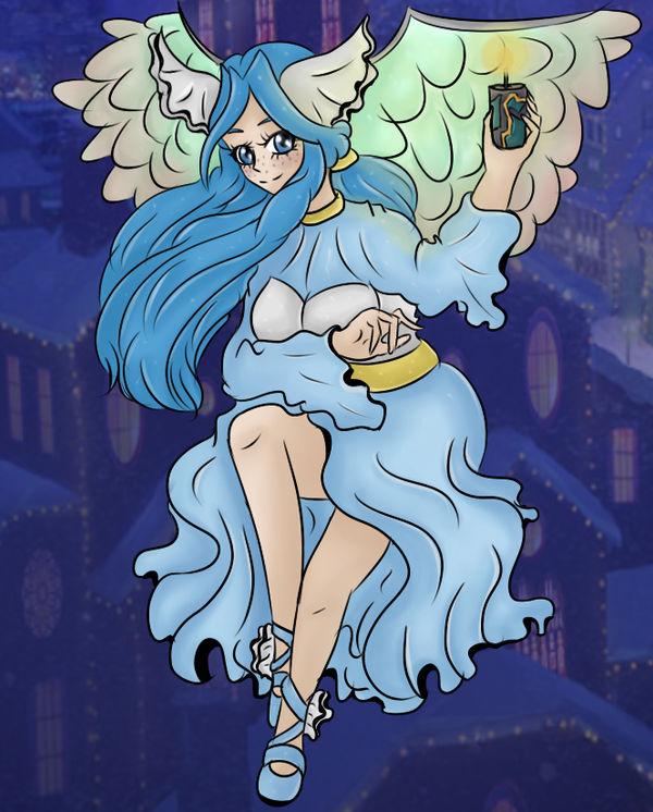 Winter Angel Via