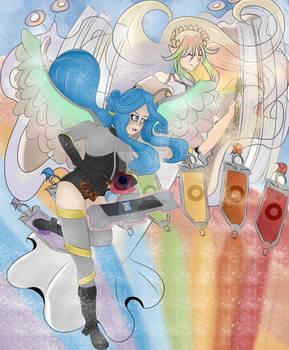 Link Summon ! Appear, Weather Painter Rainbow !
