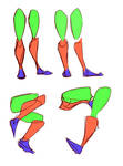 Legs Simple Shapes Pt1