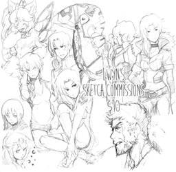 Commissions by lwyn