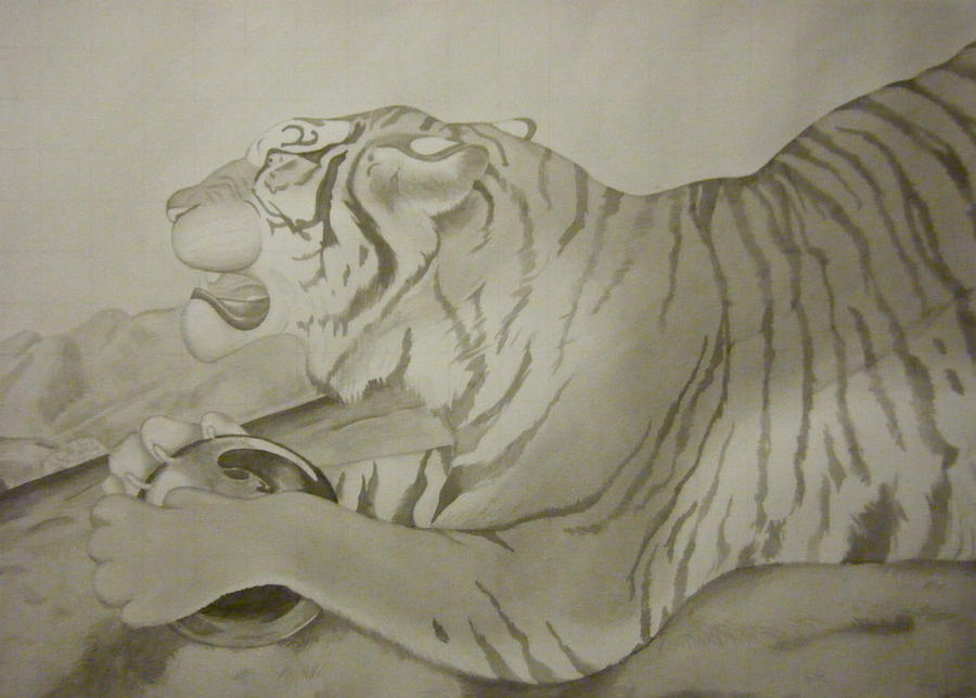 Ink Wash Tiger by Pandion-18