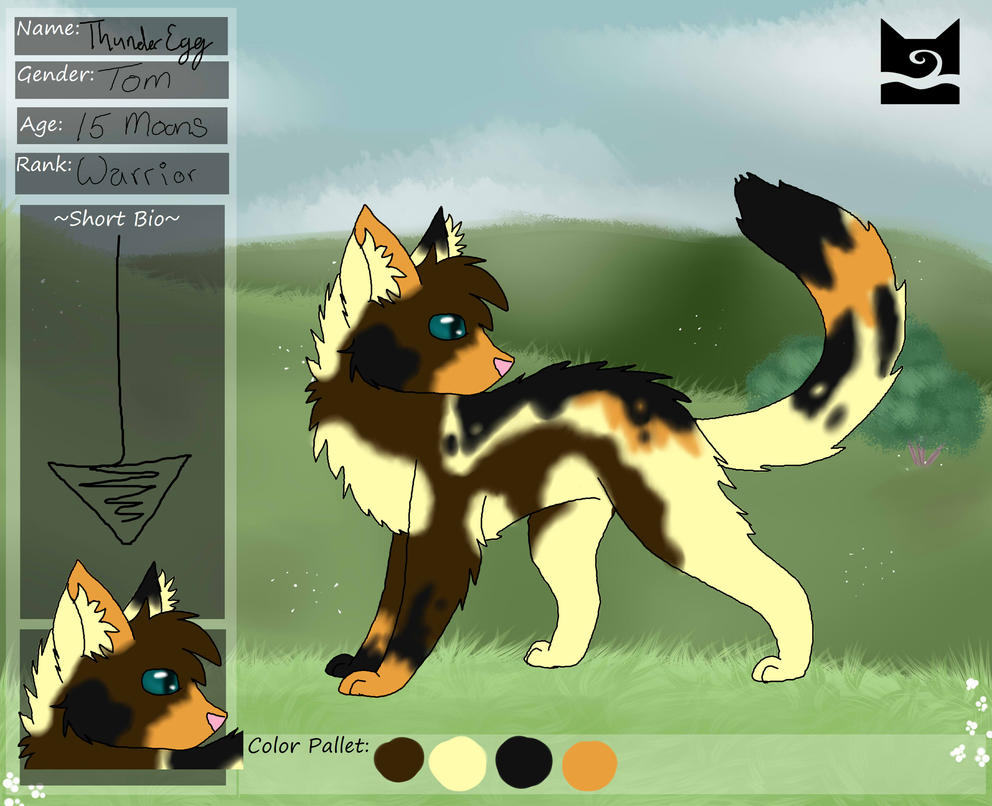 ThunderEgg of WindClan by SnowMBlack