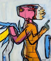 Winging It Man by Amos Duggan 2013 by amosduggan