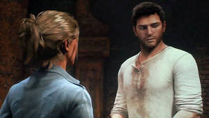 Nate and elena Uncharted 3