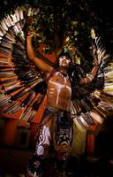 Mayan Warrior by rawPhotog