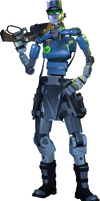 [SFM] Sergeant First Class Sally by Nkrs235