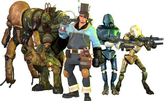 [SFM] Gearloose and his creations
