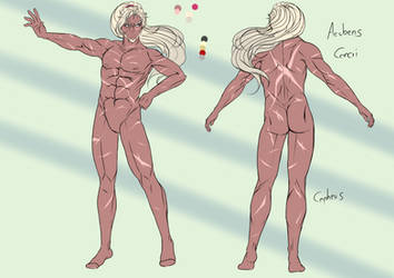 OC Sheet - Acubens Cancri by CepheusArt