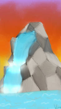 Prompt Responce -Day 1- -Waterfall-