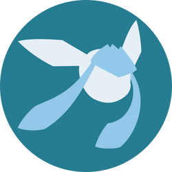 Minimalist Glaceon Icon (Free to use)