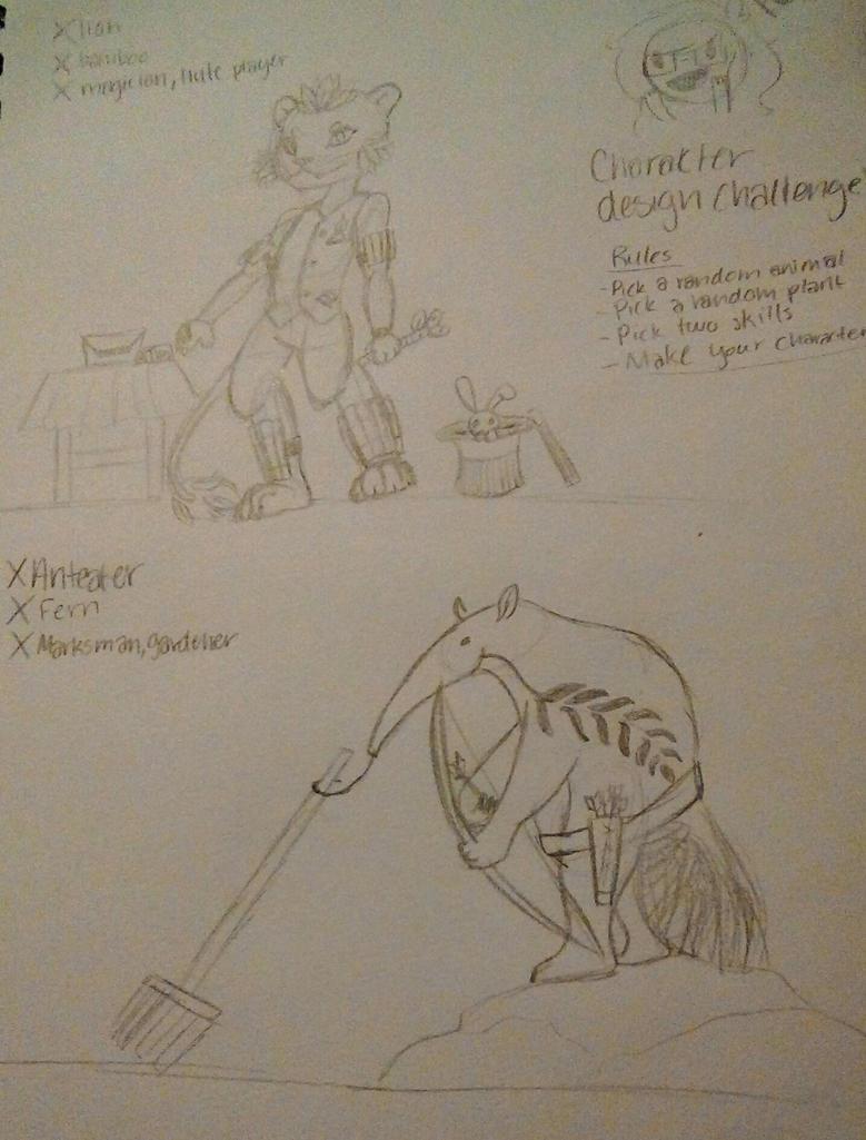 Character Design Challenge 2017 : Jedflah s character design challenge by on deviantart