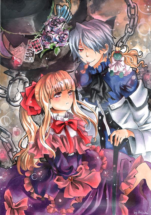 Pandora Hearts Sharon Break by Majuki
