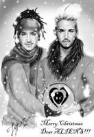 Merry Christmas dear ALIENS!!! by LykanBTK
