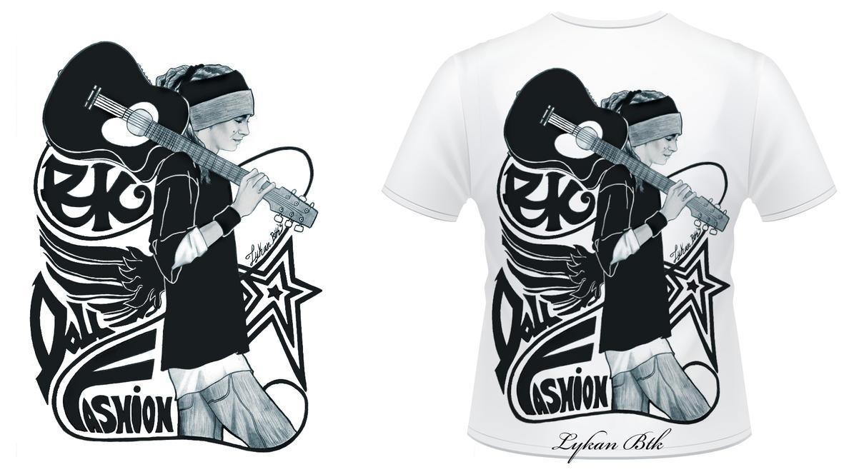 T-Shirt Design Tom Kaulitz by LykanBTK