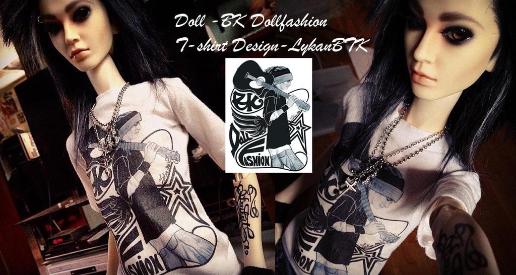T-Shirt Design #1 by LykanBTK