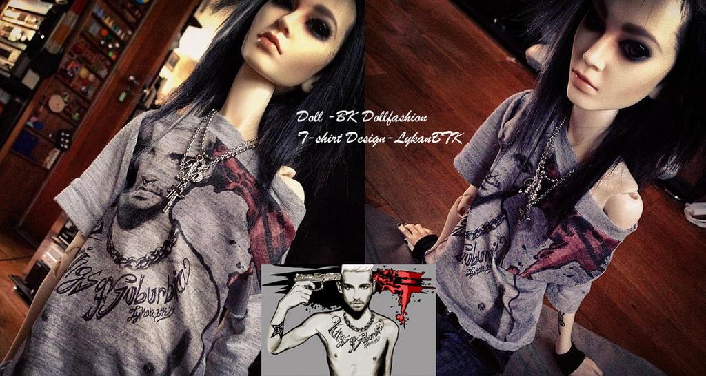 T-Shirt Design #2 by LykanBTK
