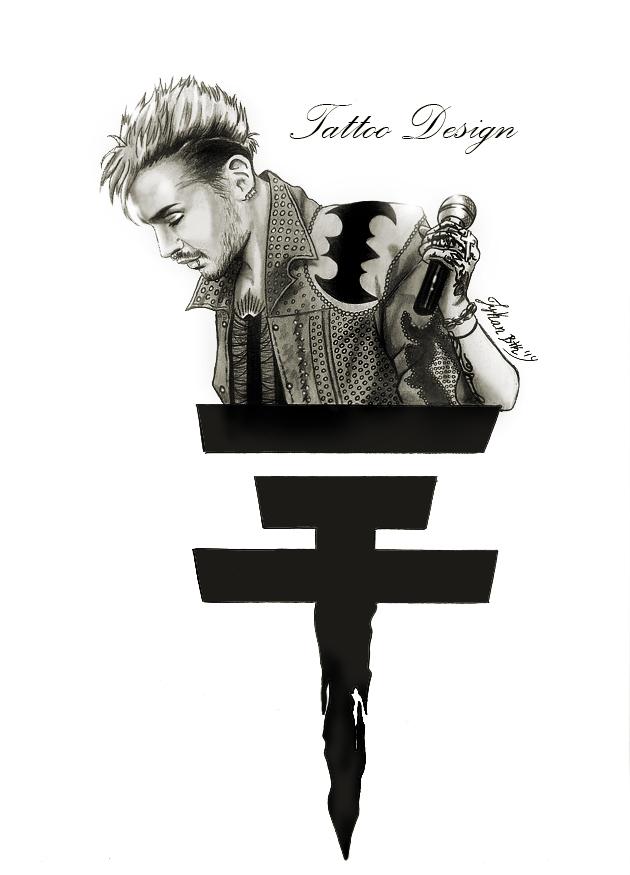 Bill Kaulitz Tattoo design. by LykanBTK
