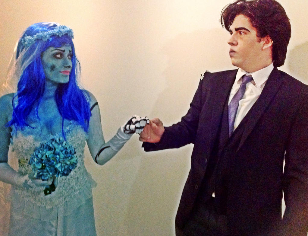 Corpse Bride and Victor - Take my hand  by JuliePuddin