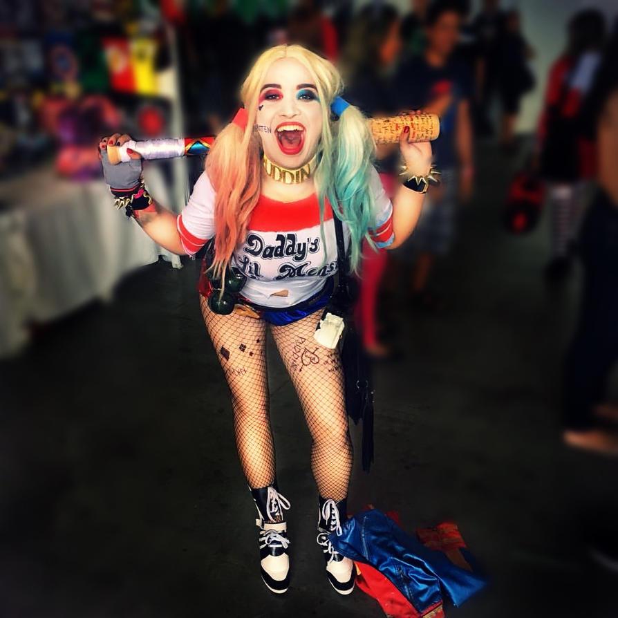 Harley Quinn - Joke's on you!  by JuliePuddin