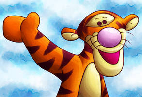 Tigger Is Best Pooh Character by PendulumWing