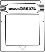 Game Boy Cartridge Template