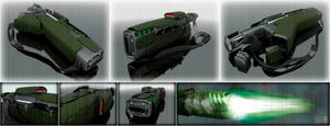 High Energy Blaster Angrichon by Ergrassa