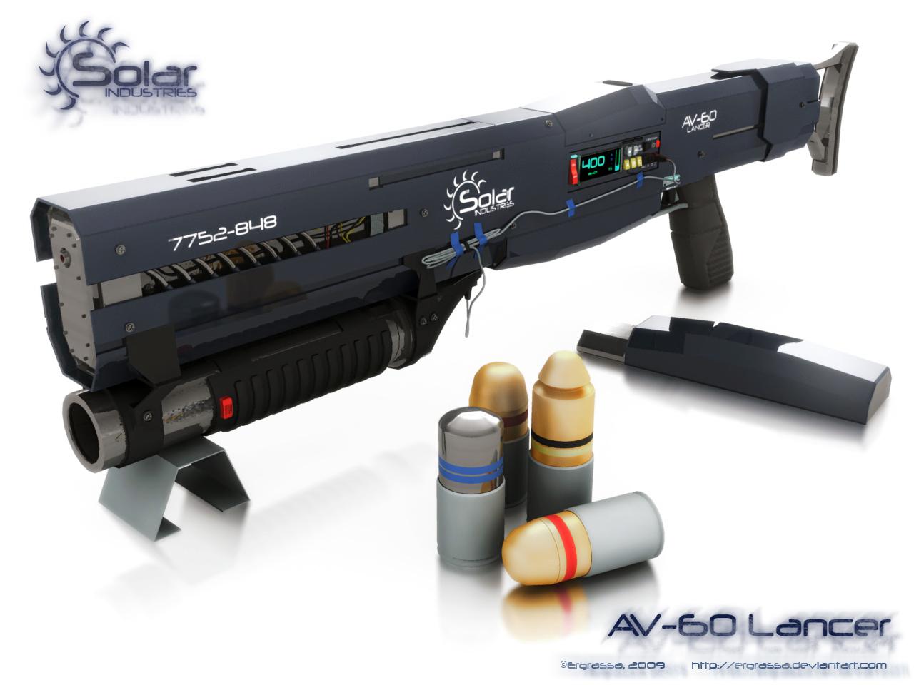 Lancer by Ergrassa