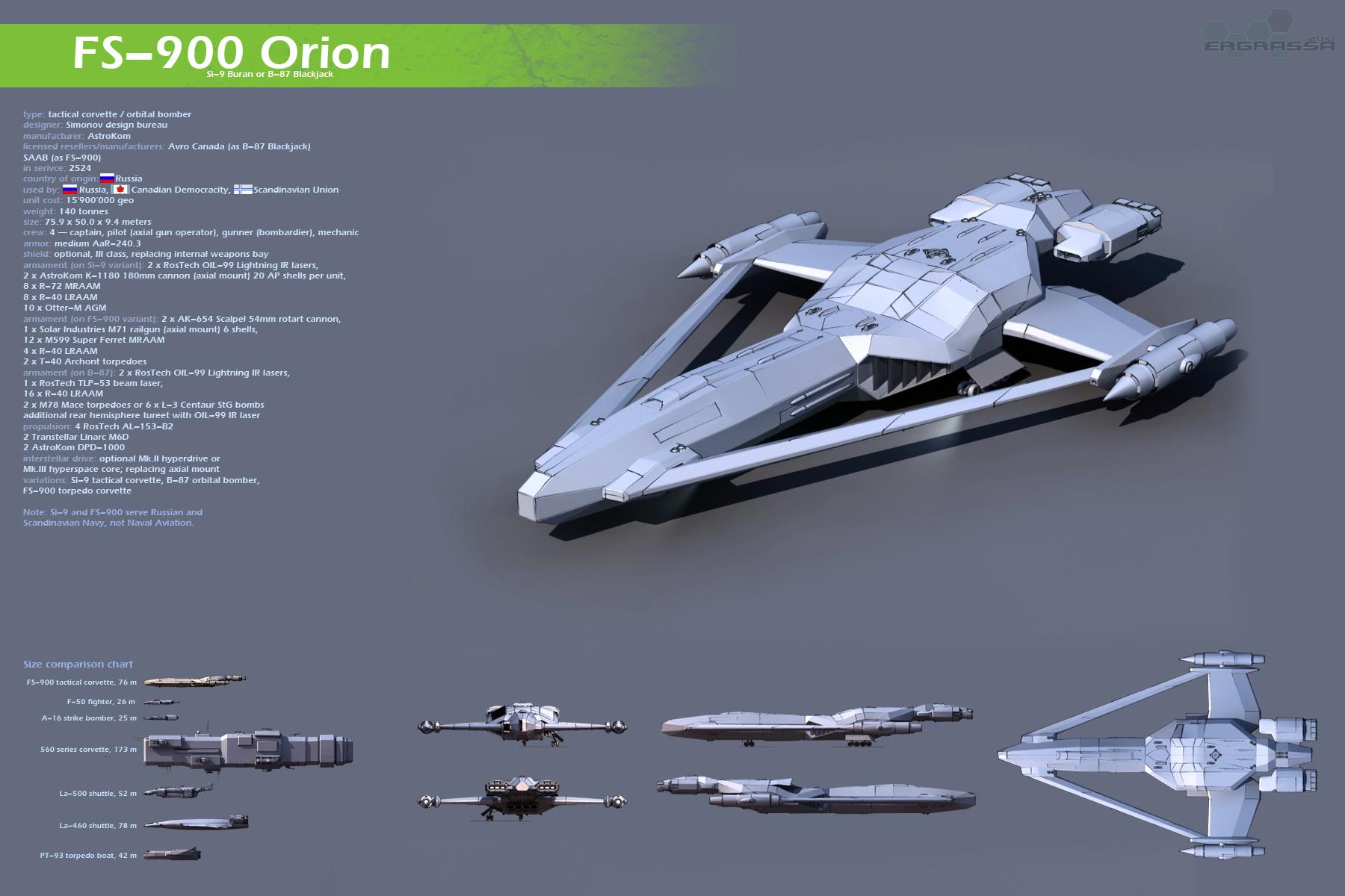 FS-900 Orion by Ergrassa