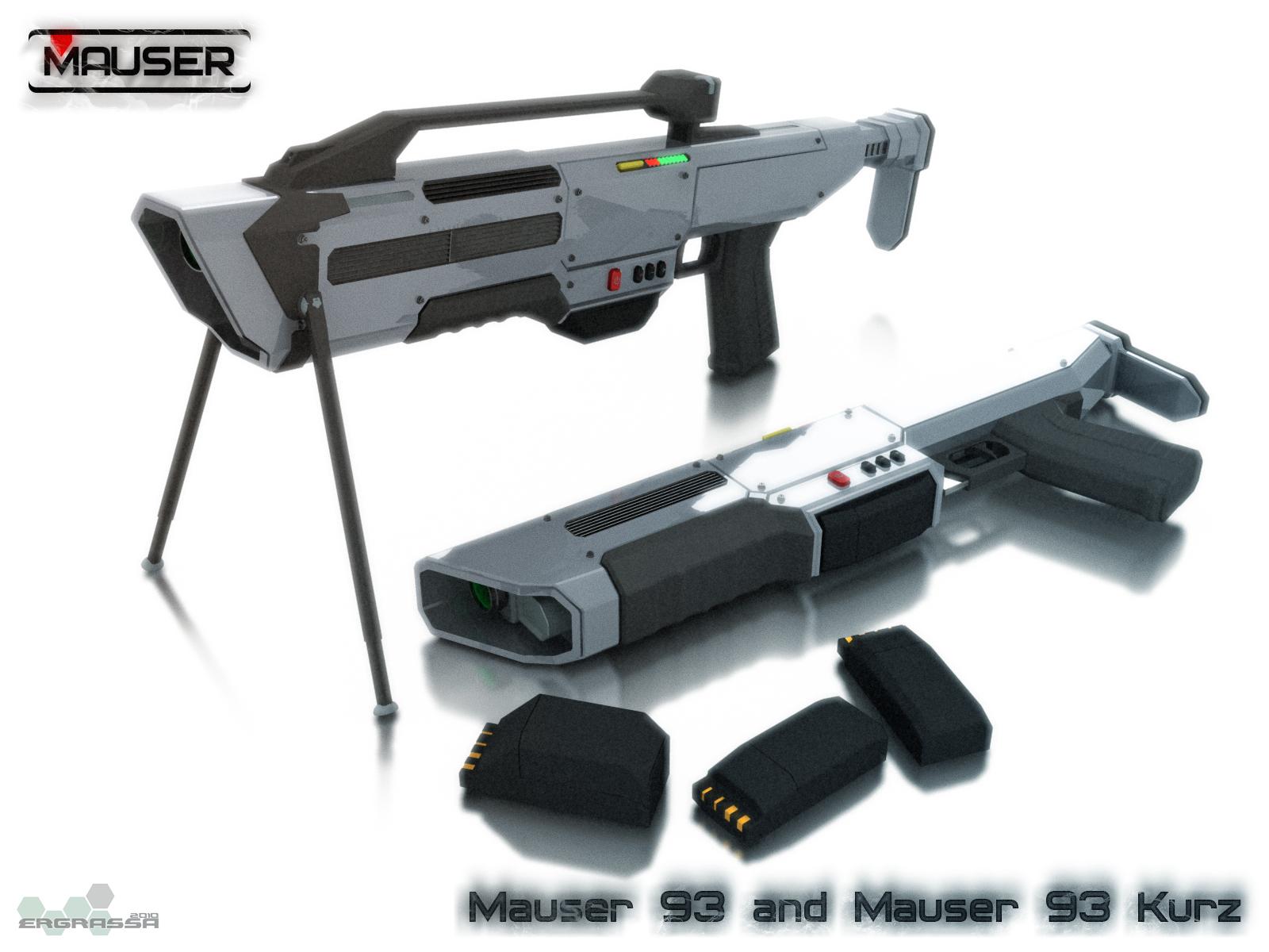 Mauser 93 by Ergrassa