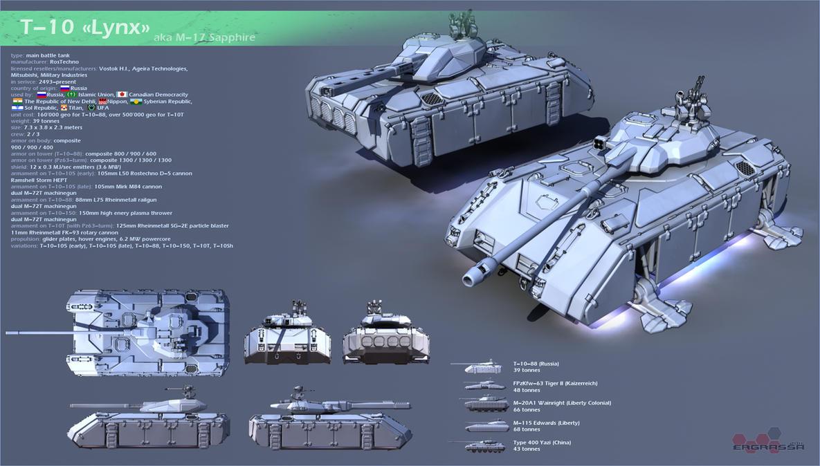 T-10 by Ergrassa