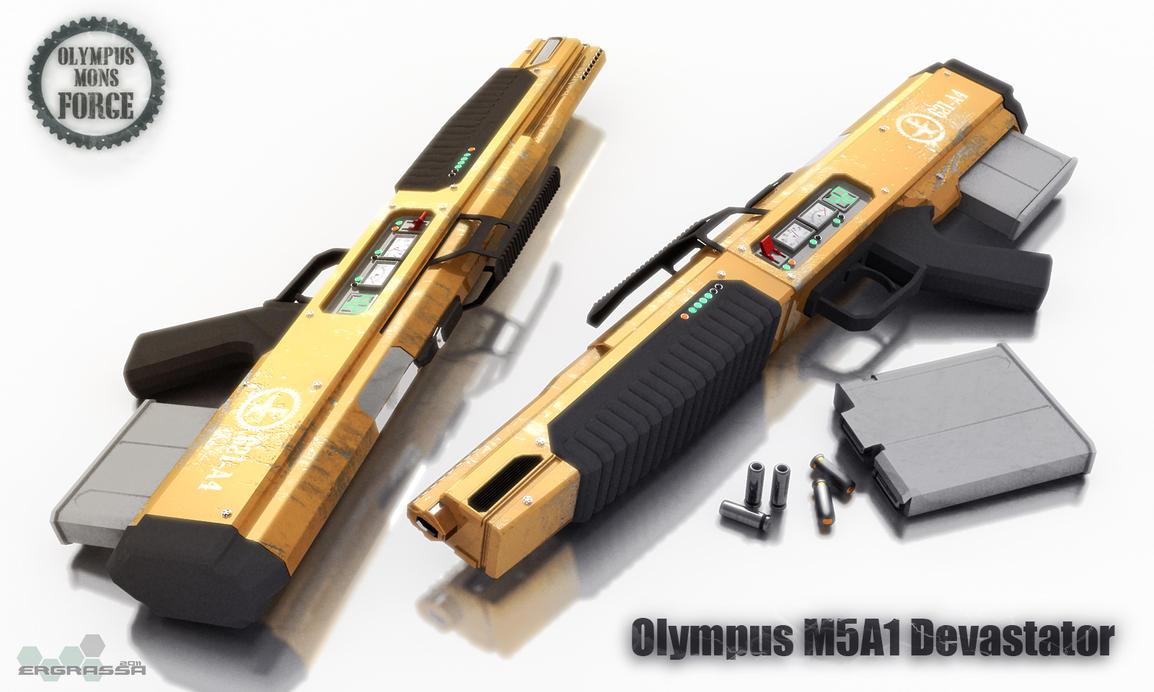 Olympus M5A1 Devastator by Ergrassa