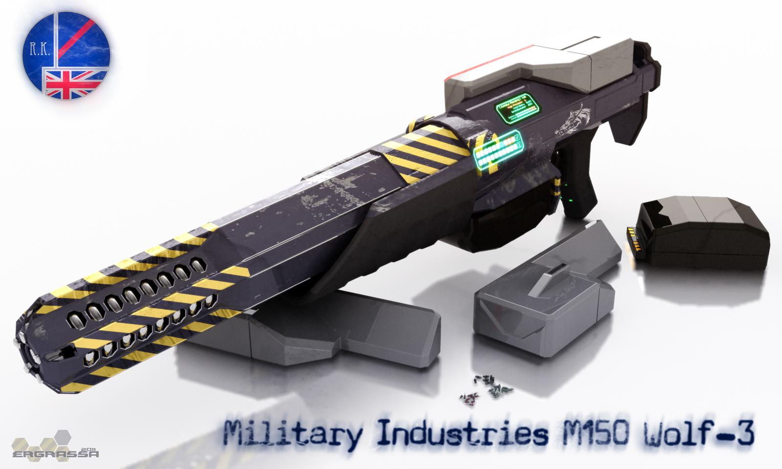 M150 Wolf-3 by Ergrassa
