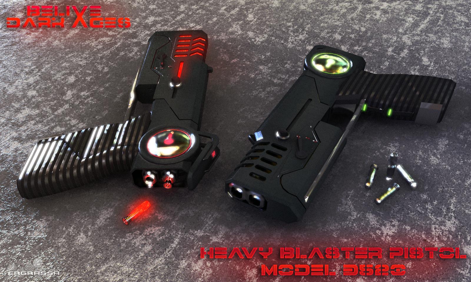 Blaster Pistol 3520 by Ergrassa