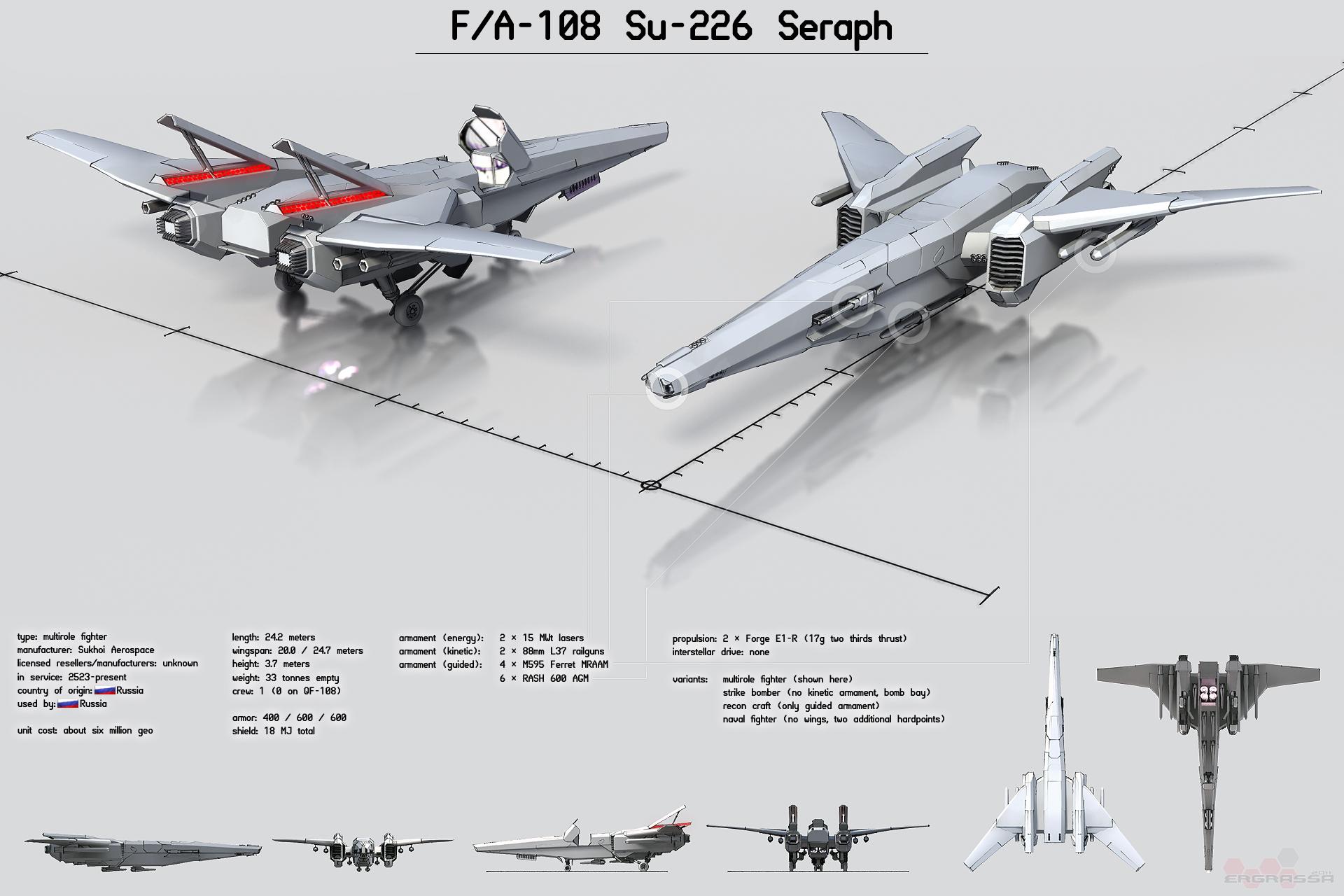 Su-226 Seraph by Ergrassa