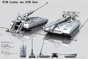 2S90 Rose by Ergrassa