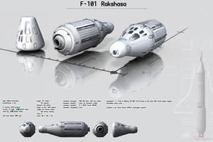 F-101 Rakshasa by Ergrassa