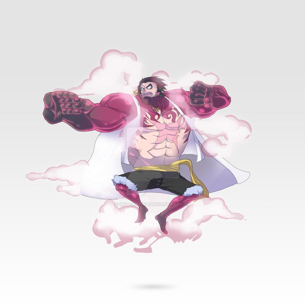 Luffy - Gear 4th by infj-artist on DeviantArt