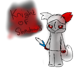 Knight of Shadows by NaturisticLeafy