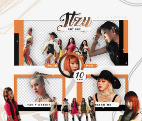 PACK PNG ITZY - NOT SHY pt.1 // HANNAK