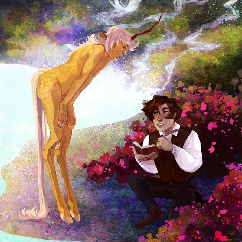 Meeting Veo by arurelius