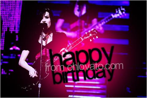 Demi Lovato - Happy Birthday 2 by skyline-designs