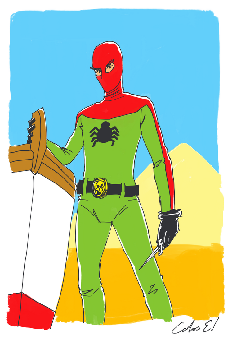 Turkish Spider-Man by InfiniteBadness