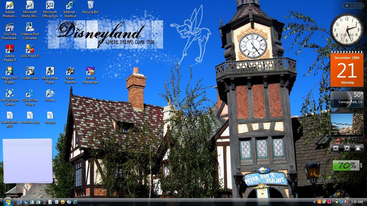 Disneyland Peter Pan wallpaper