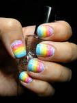 Brush Stroke/Crayon Rainbow