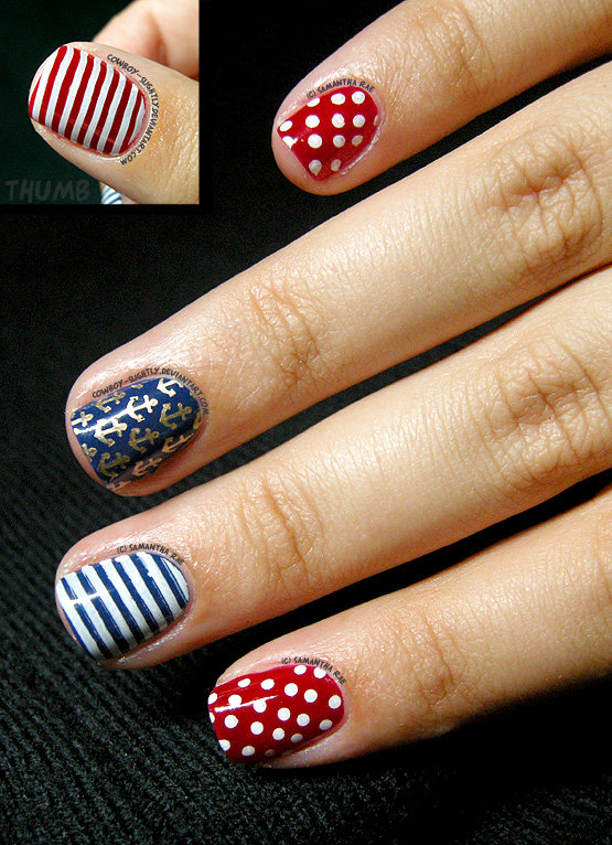 Patriotic Nautical by Cowboy-Slightly