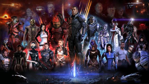 Mass Effect (Male Shepard)