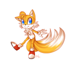 .:Sonic the hedgehog:. Cutie Tails by N-Lilix