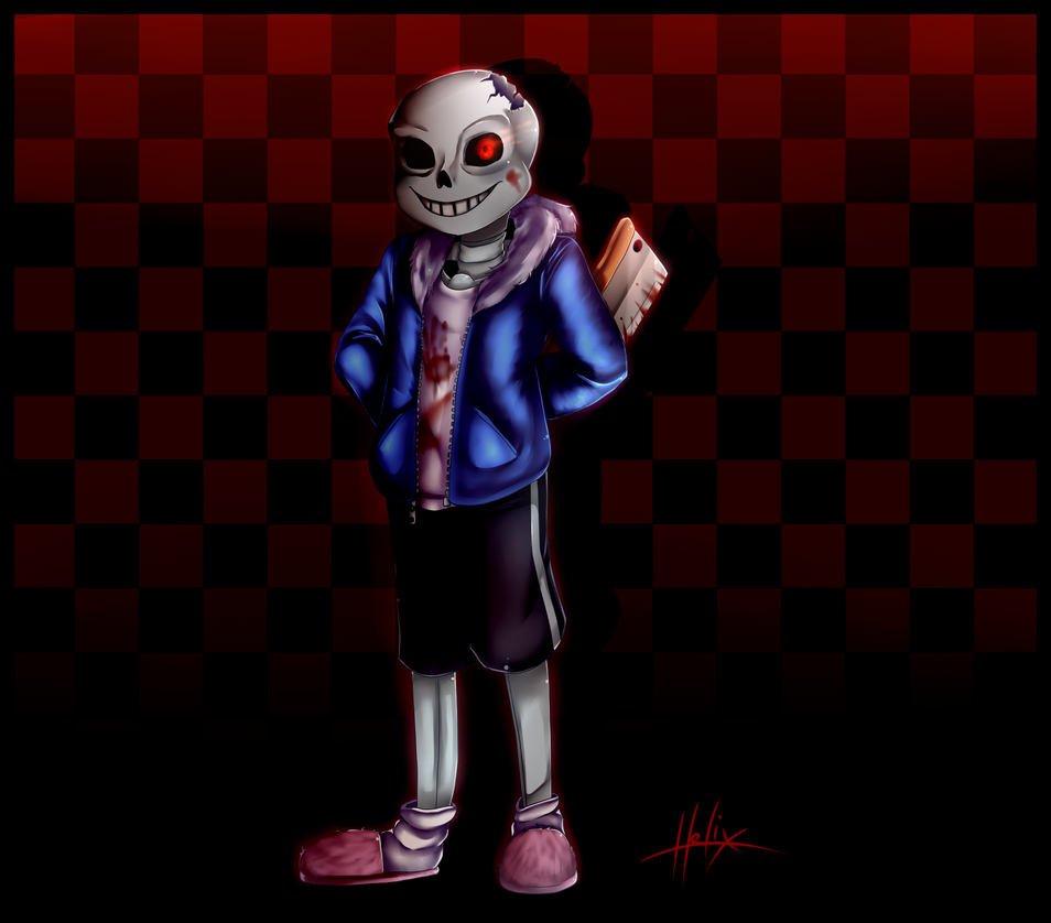 Horror Tale Sans: Sans Horrortale By LD-00 On DeviantArt – Quotes of