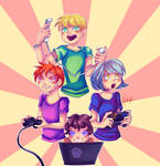 .:Gamers:. by N-Lilix